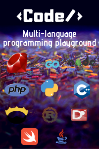 Code - Multi-programming language playground